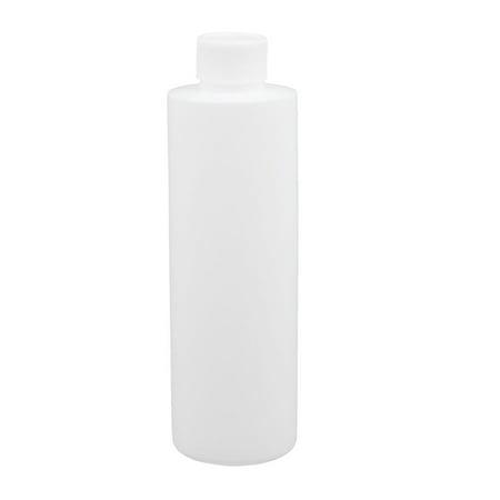 - Unique Bargains 6.8oz HDPE Plastic White Refillable Narrow Mouth Storage Bottle Jar