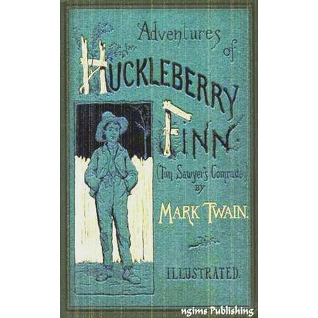 The Adventures of Huckleberry Finn (Illustrated + Audiobook Download Link + Active TOC) - eBook ()
