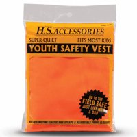Hunters Specialties Hunters Safety Vest, Blaze Orange, Youth/Small