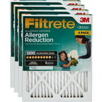 Filtrete Allergen Reduction 1200 Air and Furnace Filter, Available in Multiple Sizes, 4pk