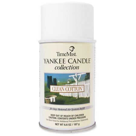 TimeMist, TMS1042828, Yankee Candle Air Freshener Refill, 1 Each, Clear