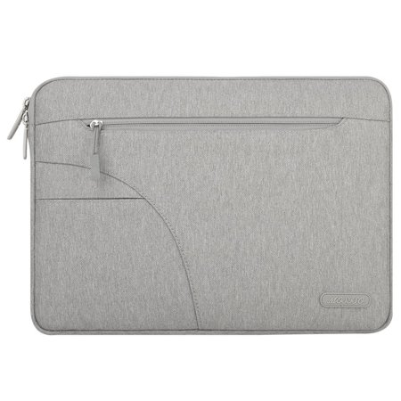 Mosiso New Style Polyester Fabric Laptop Sleeve Carrying Case Cover Protector Bag with Pocket for 13-13.3 Inch MacBook Pro, MacBook Air, Ultrabook Netbook Tablet, - Pocket Pro Mini