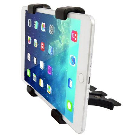 ipow cd slot tablet car mount adjustable 360 degree flexible cell phone clip holder for iphone. Black Bedroom Furniture Sets. Home Design Ideas