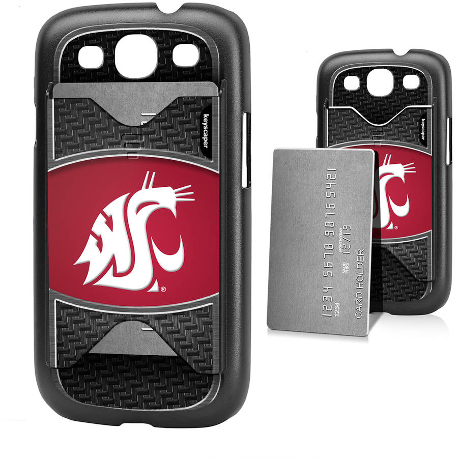 Washington State Cougars Galaxy S3 Credit Card Case