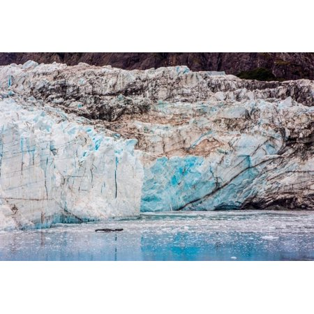 Glacier Bay National Park, viewed from Princess Star Cruise Ship, Alaska, USA, North America Print Wall Art By Laura