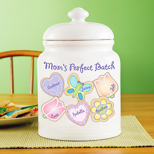 Personalized Spring Cookies Treat Jar