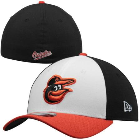 New Era Baltimore Orioles MLB Team Classic 39THIRTY Flex Hat - Black/White
