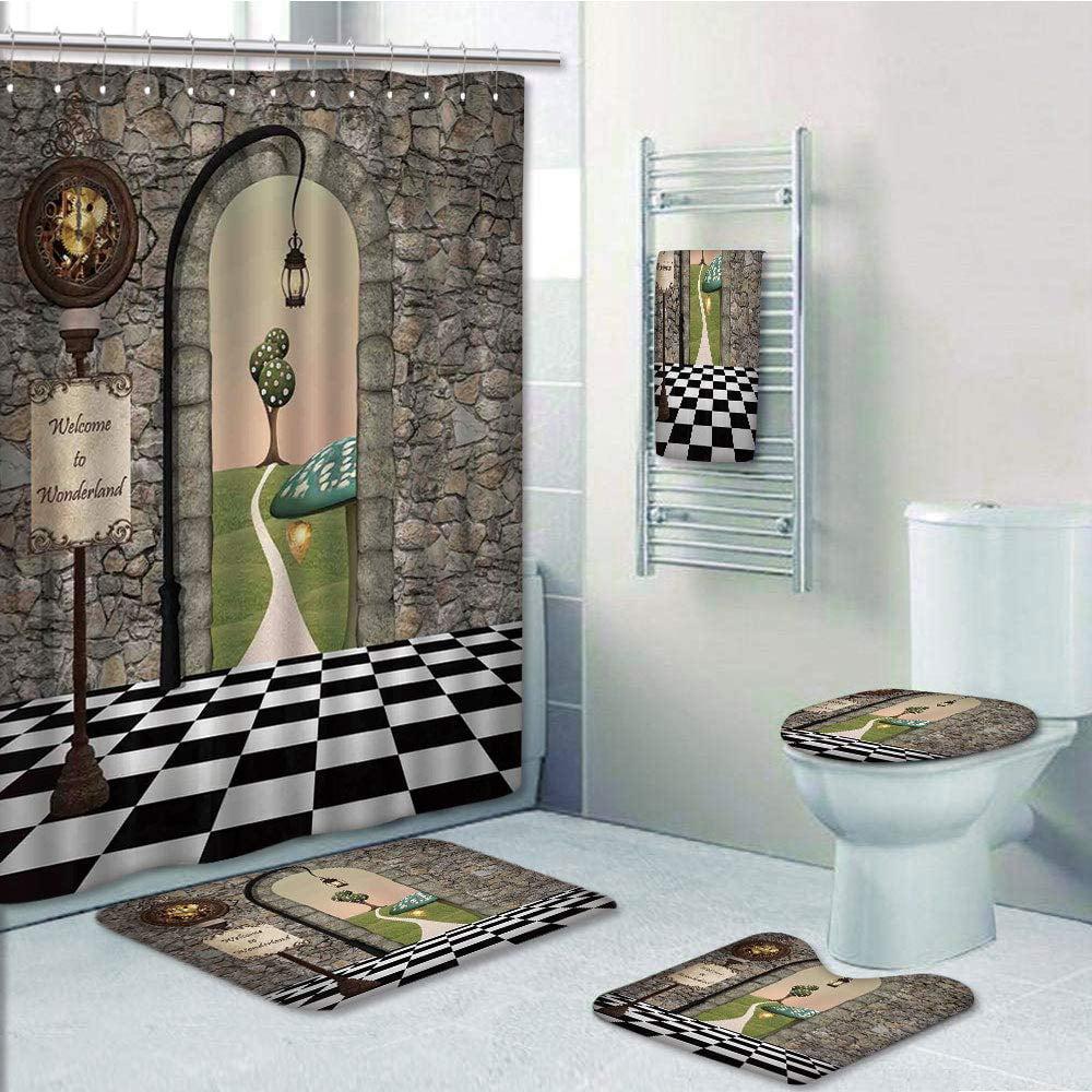 PRTAU Alice in Wonderland Welcome Wonderland Floor Tree ...