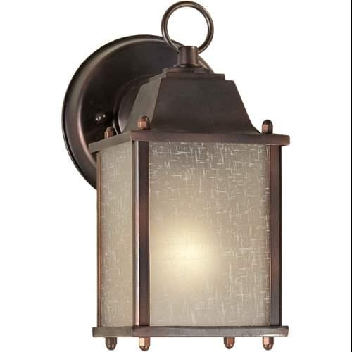 Forte Lighting  1755-01  Wall Sconces  Outdoor Lighting  Outdoor Wall Sconces  ;Antique Bronze