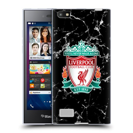OFFICIAL LIVERPOOL FOOTBALL CLUB 2017/18 MARBLE SOFT GEL CASE FOR BLACKBERRY - Football Berries