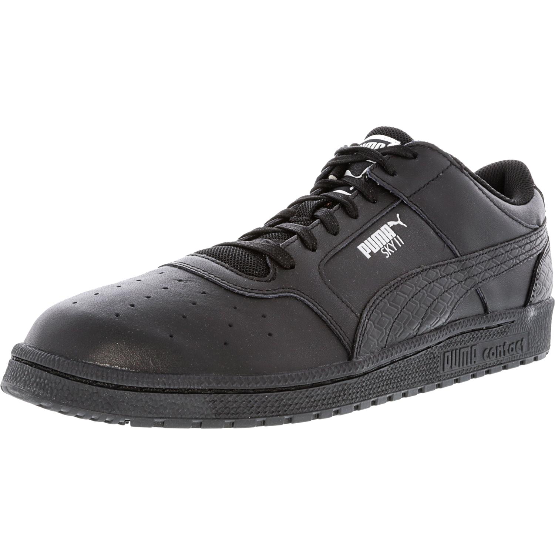 Puma Men's Sky Ii Lo B And W Black Ankle-High Fashion Sneaker - 11.5M