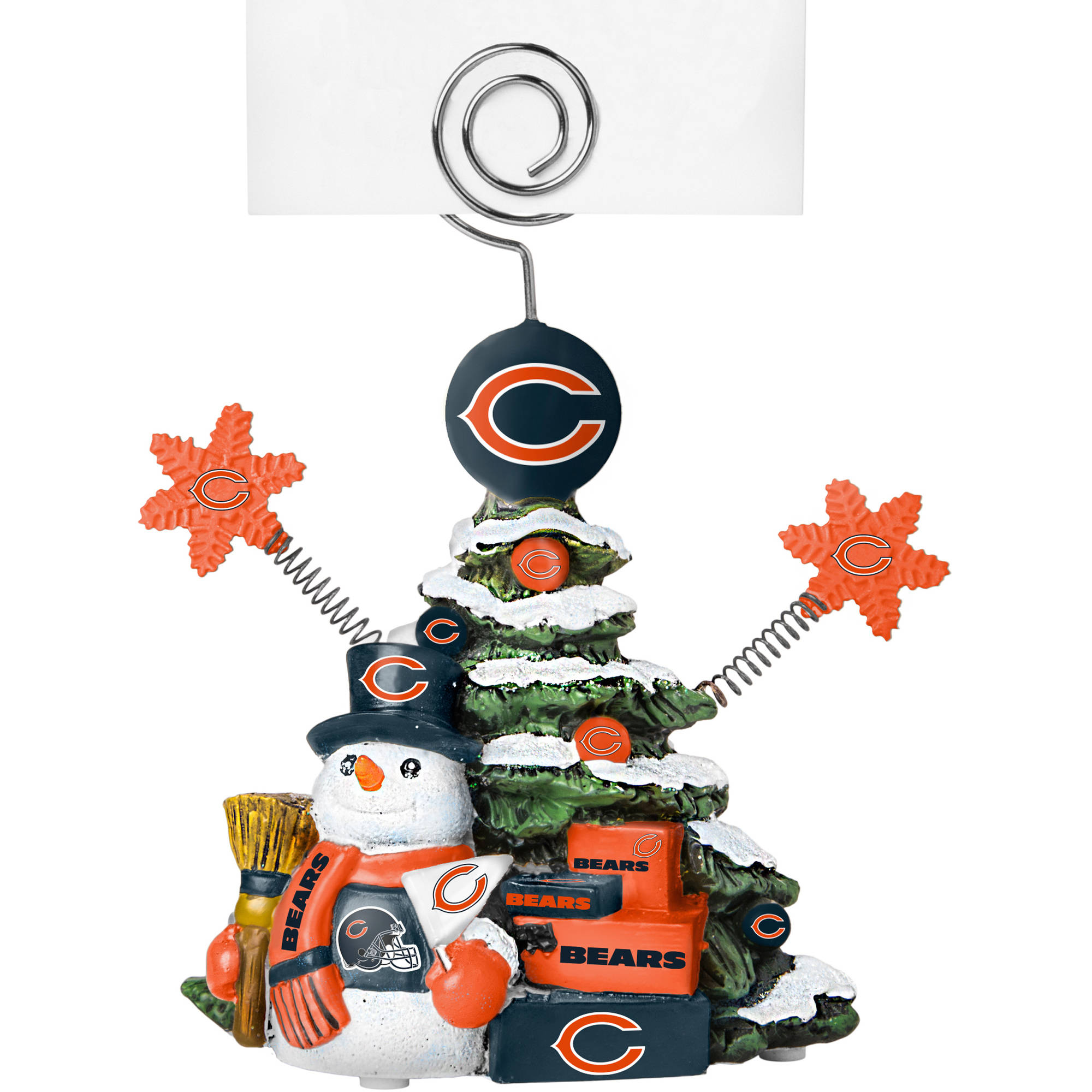 Topperscot by Boelter Brands NFL Tree Photo Holder, Chicago Bears