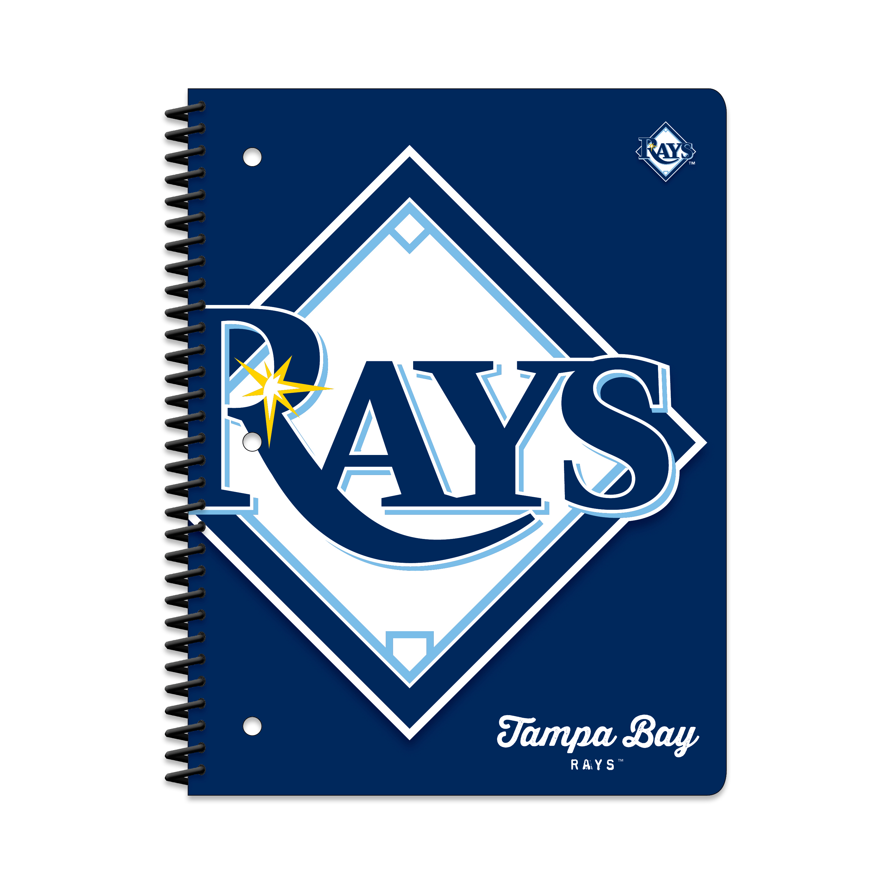 TAMPA BAY RAYS CLASSIC 1-SUBJECT NOTEBOOK