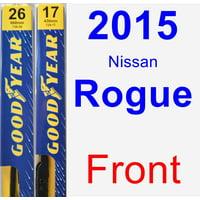 2015 Nissan Rogue Wiper Blade Set/Kit (Front) (2 Blades) - Premium