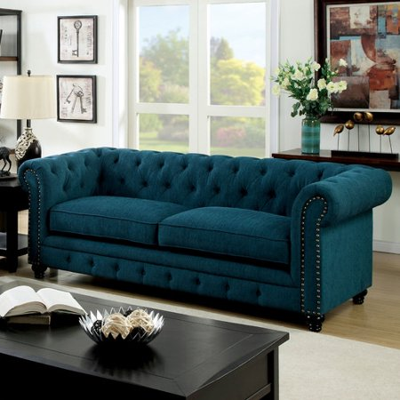 hokku designs cedric 90 39 39 chesterfield sofa