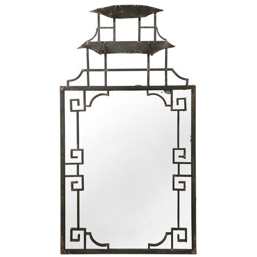 A&B Home Group, Inc French Chic Garden Decorative Wall Mirror
