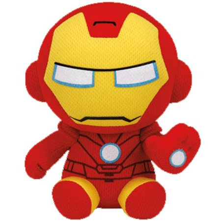 Iron Man Beanie Baby (Marvel) - Stuffed Animal by Ty (41190) - Iron Man Baby