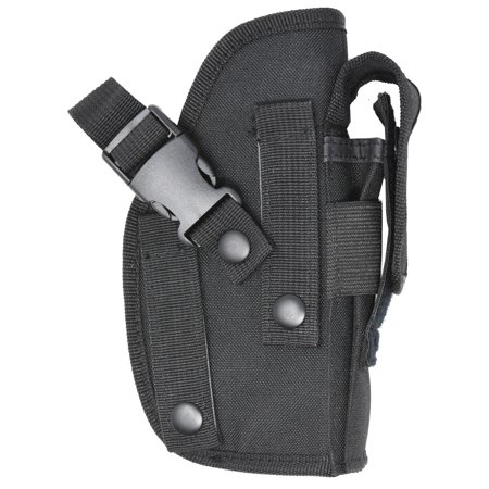 Ambidextrous Belt Holster  Designed For Comfort And Quick Draw  Includes  Extra Mag Pouch  For larger guns like 1911, Hi Point, GLOCK 17 and More,