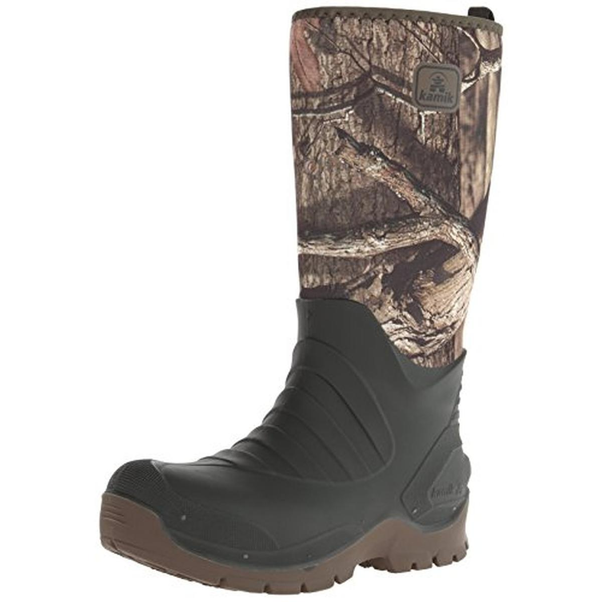 Kamik Mens Huntsman Waterproof Insulated Snow Boots