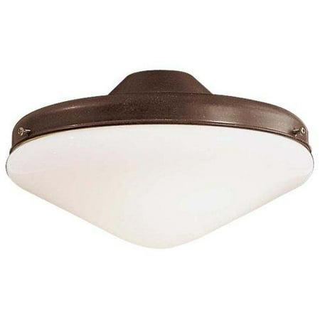 Minka Aire 2 Bulb Light Kit In Oil Rubbed Bronze Walmart Com