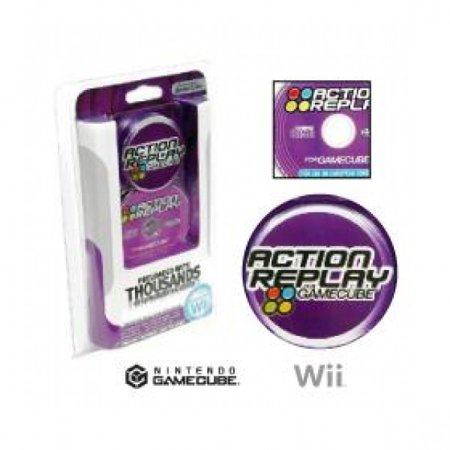 GameCube Action Replay (Cheat Codes)
