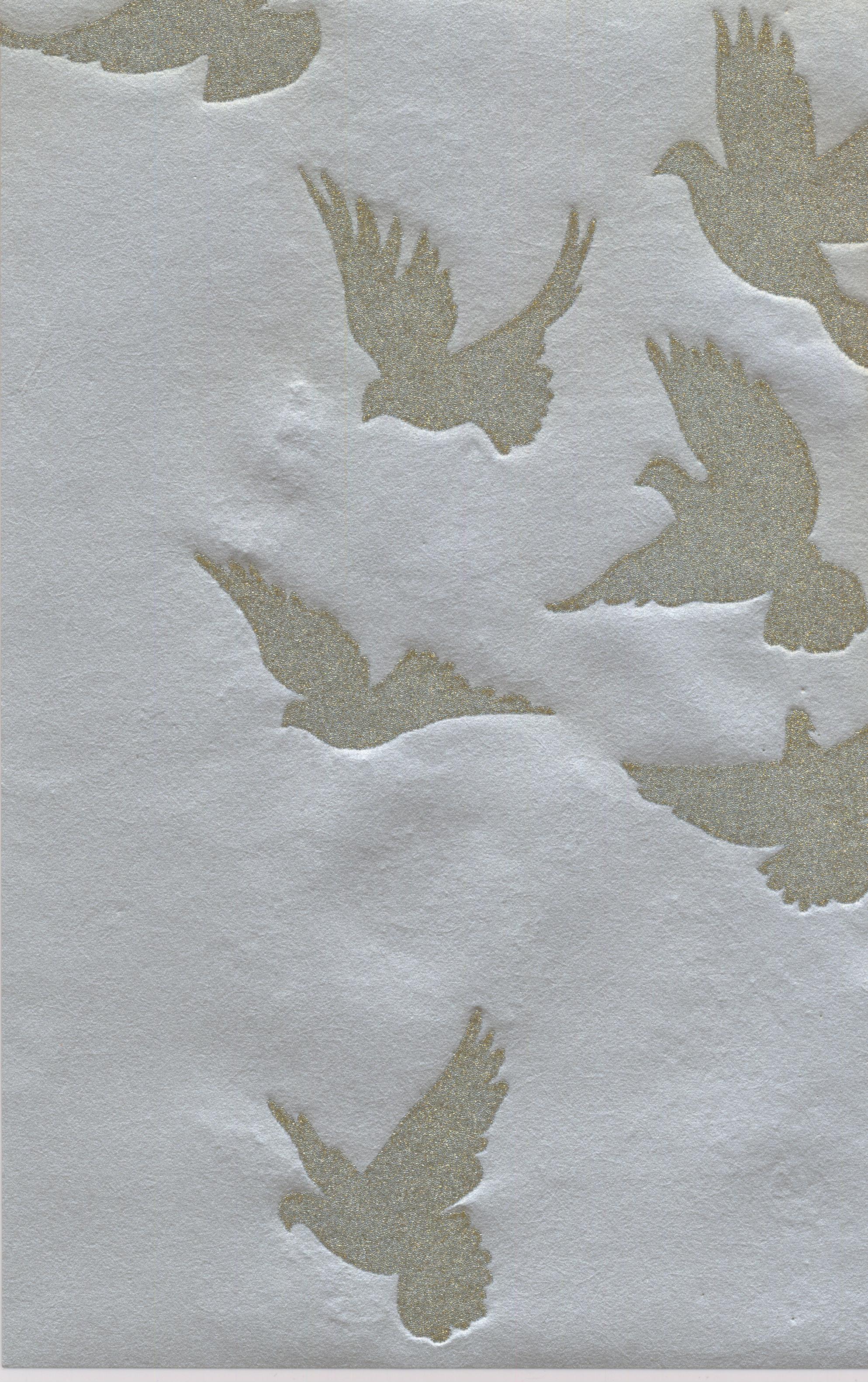 Scenic Modern Prepasted Color Light Blue Grey Wallpaper Roll