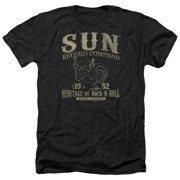 Sun Records Rockabilly Bird Mens Heather Shirt