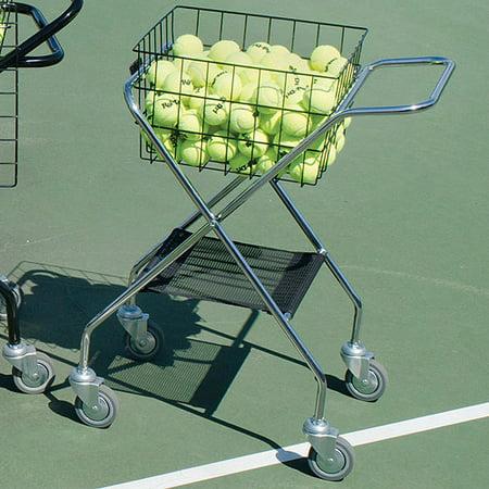 Mini Tennis Posts - Mini Tennis Coach's Cart BSN Sports
