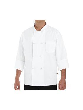Men's Eight Knot Button Chef Coat