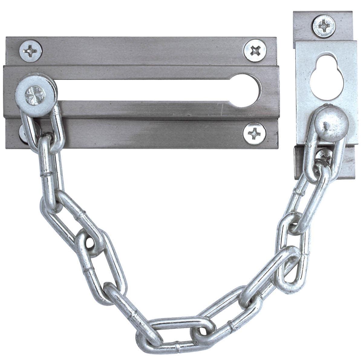 Ultra Hardware 29012 Chrome Finish Chain Door Guard
