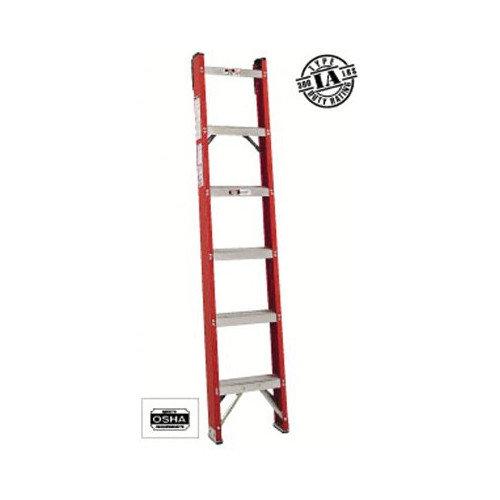 Louisville Ladder 4 Ft Fiberglass Straight Ladder With 300