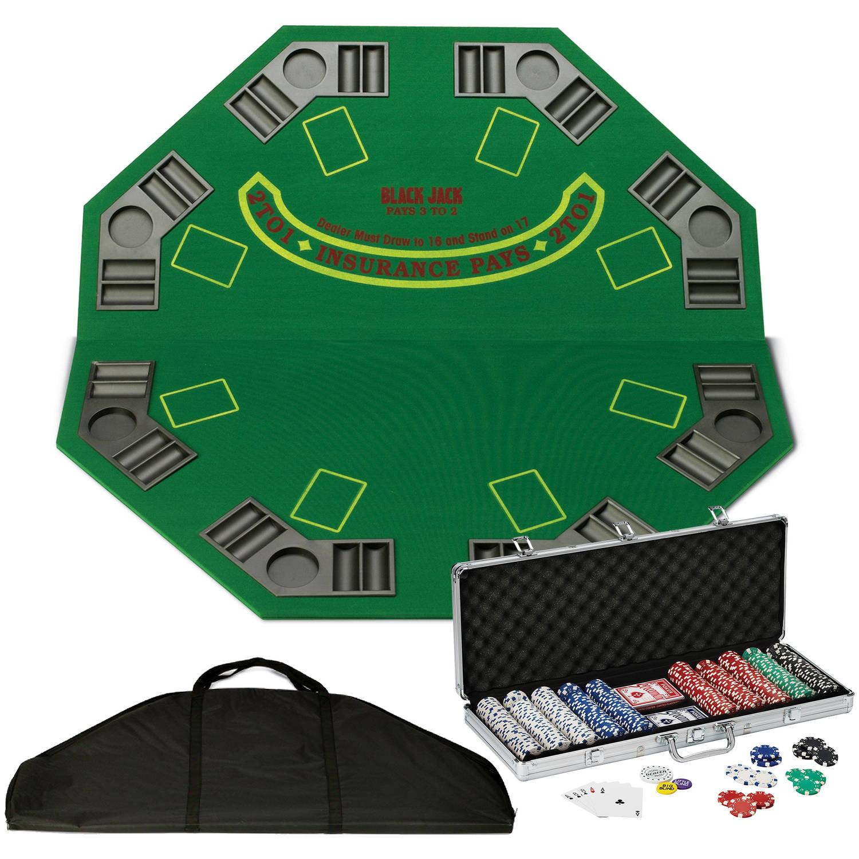 Fat Cat Traveling Poker Set
