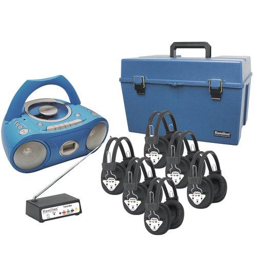 Hamilton Buhl 6 Person Wireless Deluxe CD Listening Center
