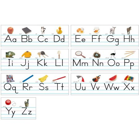 North Star Teacher Resource NST9009BN Alphabet Lines Traditional Manuscript Book - Pack of 3