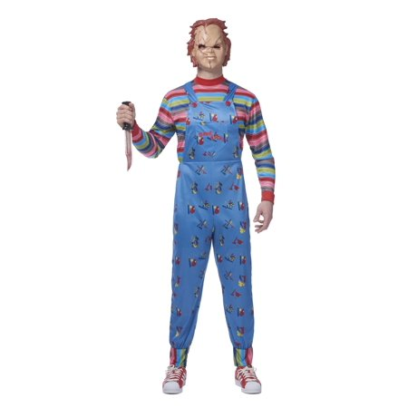 Mens Chucky Costume - Chucky Halloween Costume For Infants