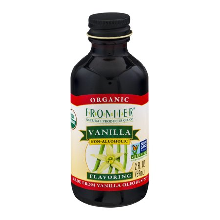 Frontier Organic Vanilla Flavoring  2 0 Fl Oz