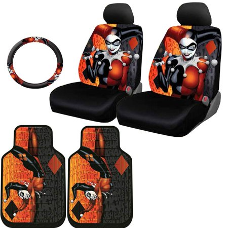 Harley Quinn Car Seat Covers