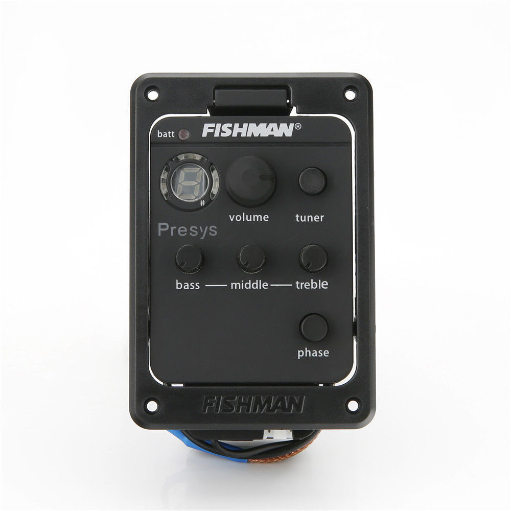 101 Fishman Presys Onboard Preamps Guitar EQ Tuner Piezo Pickup Equalizer New by