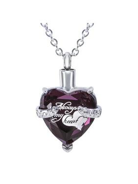 Fashion Necklaces Pendants Purple Walmart Com