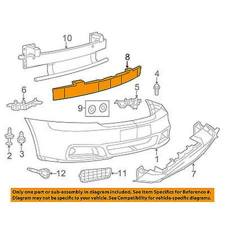 Dodge CHRYSLER OEM 11-14 Avenger Bumper Face-Foam Impact Absorber Bar 68082056AB