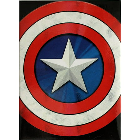 Captian America Shield (Magnet - Marvel - Avengers Captain America Shield New Toys)