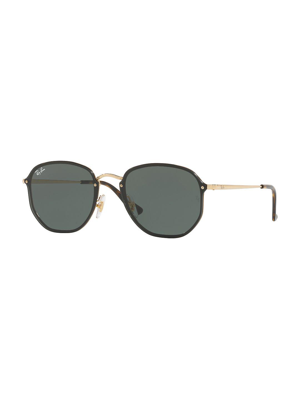 Ray-Ban Unisex RB3579N Blaze Hexagonal Sunglasses, 58mm