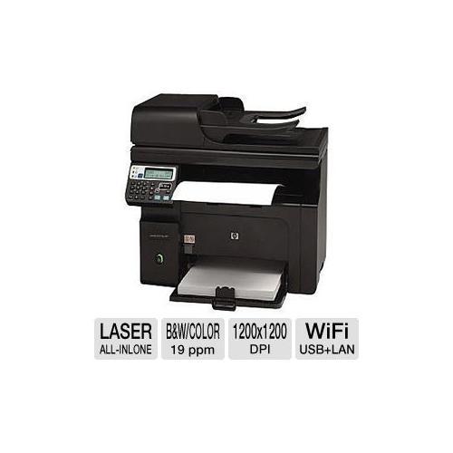 Refurbished HP LaserJet Pro M1217nfw MFP - Multifunction ( fax / copier / printer / scanner ) - B/W - laser - Legal (8.5 in x 14 in)
