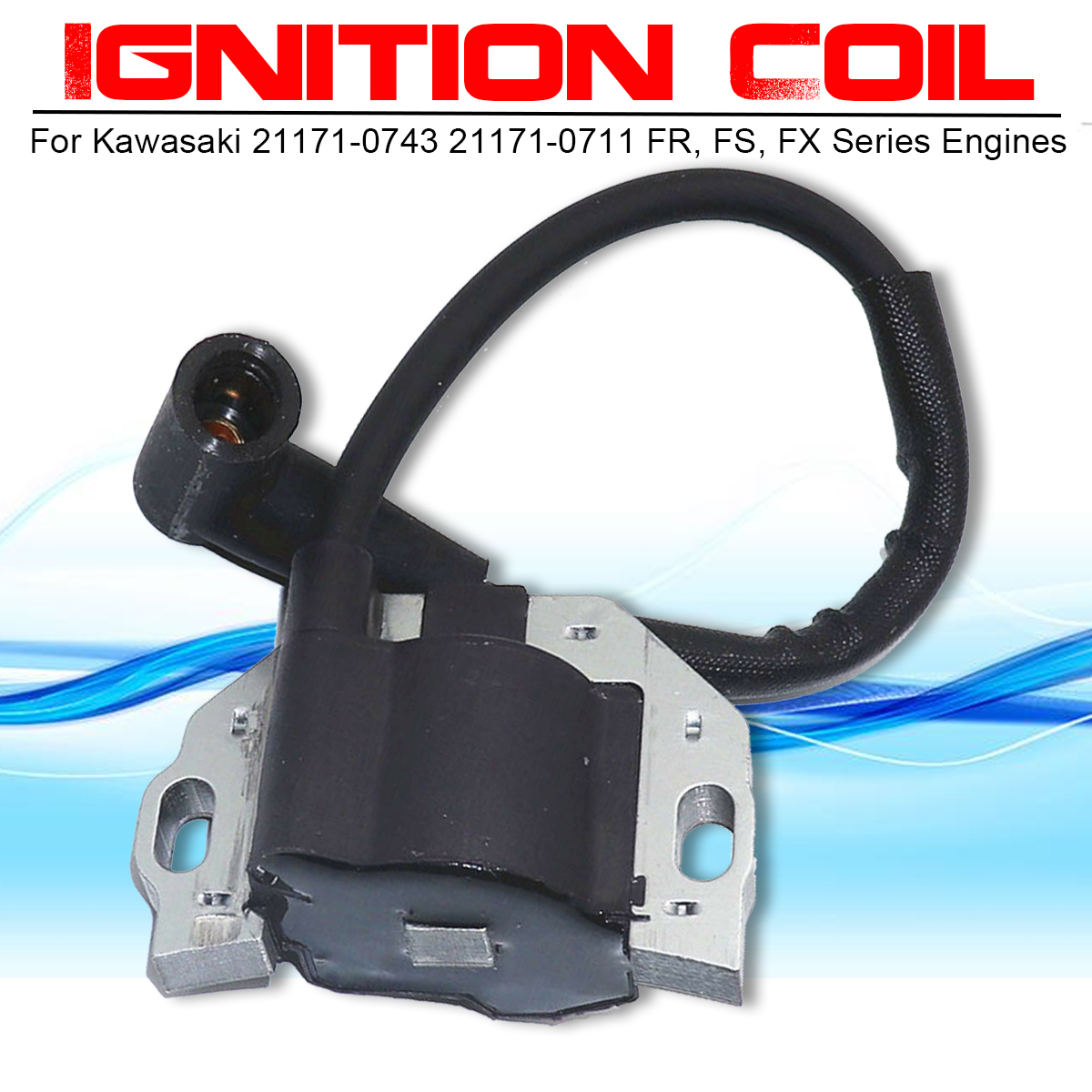 Kawasaki 21171-0743 Ignition Coil Assembly Pack Of 2