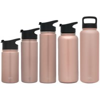 Simple Modern 32 Ounce Summit Water Bottle - Stainless Steel Tumbler Metal Flask +2 Lids - Wide Mouth Double Wall Vacuum Insulated Leakproof Pattern: Wood Grain