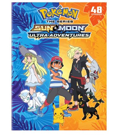 Pokemon Sun & Moon Ultra Adventures (DVD)