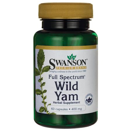 Wild Yam Root (Swanson Full Spectrum Wild Yam 400 mg 60)