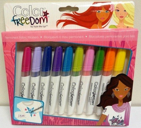 Fabric Markers 10 Pack