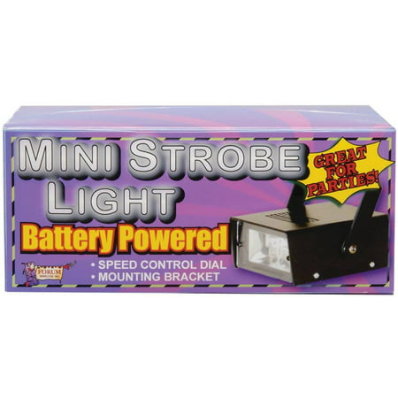 Mini Strobe Battery Operated No Sound Halloween Decoration