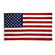 x5' American Flag, Strong 100% Nylon Material, Made in USA